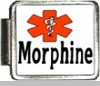 Morphine Medical Alert Photo Italian Charm