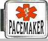 Pacemaker Medical Alert Photo Italian Charm