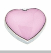 Pink Heart Floating Locket Charm