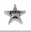 Sheriff's Badge Floating Locket Charm