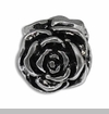 Silver Flower European Bead Charm