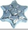 Star Heart Locket Charm