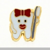 Tooth & Toothbrush Floating Locket Charm
