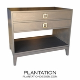 Adams Side Table | 2 Top Drawers