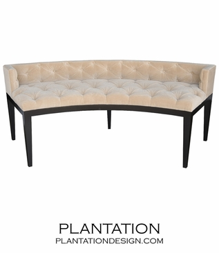 Meryl Tufted Bench