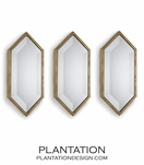 Grace Mirrors Set | Gold