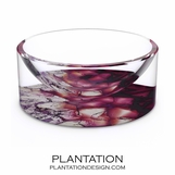 Agoura Lucite Bowl | Amethyst