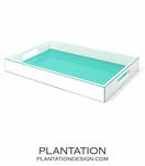 Alana Lacquer Tray | Turquoise