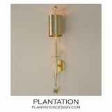 Albus Brass Sconce