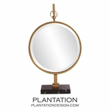 Alden Table Mirror | Gold