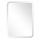 Allie Frameless Wall Mirror | Rectangular