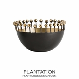 Allium Bronze & Brass Bowl | No. 2