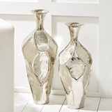 Amphora Rippled Vases Set