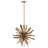 Astoria Starburst Chandelier | Brass