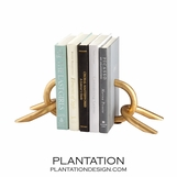 Aurelius Chain Bookends