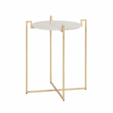 Avril Side Table | Gold