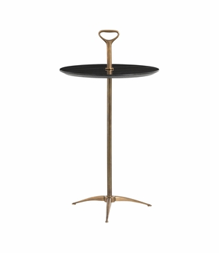 Barker Accent Table | Black Top