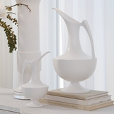Baron Ceramic Pitchers | White