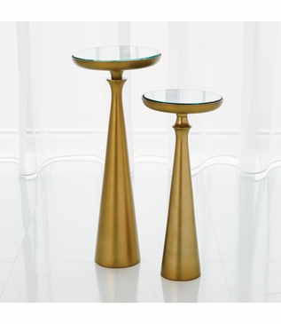 Belfry Accent Tables | Brass
