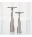 Belfry Accent Tables | Nickel
