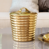 Bette Brass Ice Bucket
