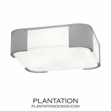 Blaine Flush Mount | Polished Chrome