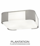 Blaine Flush Mount | Polished Nickel