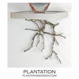 Branches Display Shelf  | Nickel