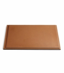 Brennan Leather Desk Blotter | Saddle
