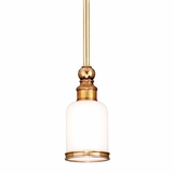 Brewster Bath Pendant | Antique Brass