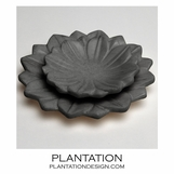 Camelot Marble Trays Set | Black