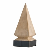 Canton Wood Pyramid | Tall