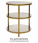 Caprice Side Table | Bronze