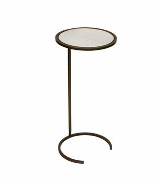 Carlo Round Cocktail Table | Bronze