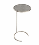 Carlo Round Cocktail Table | Silver