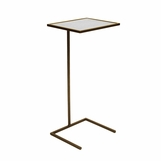 Carlo Square Drink Table | Bronze