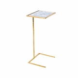 Carlo Square Drink Table | Gold