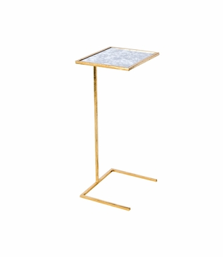 Carlo Square Cocktail Table | Gold