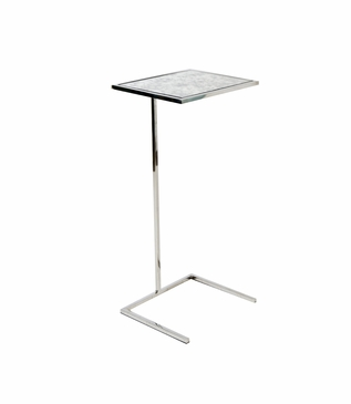 Carlo Square Cocktail Table | Nickel
