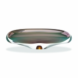 Caruso Glass Bowl | Aqua