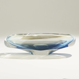 Caruso Glass Bowl | Opaque Blue