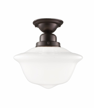 Charles Medium Flush Mount | Bronze