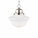 Charles Small Bath Pendant | Polished Nickel