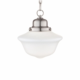 Charles Small Bath Pendant | Satin Nickel