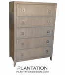 Cohen Highboy Dresser | Rift Oak