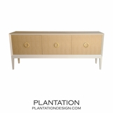Connor Cabinet w/Upholstered Doors