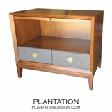 Connor Side Table w/Pullout Tray