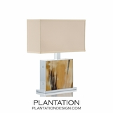 Cubo Luxury Horn Lamp | Short