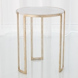 Culvert Side Table | Silver
