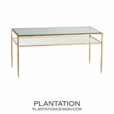 Daley Coffee Table | Gold Leaf